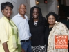 Cheryl Wills with Robert Jackson, Cordell Cleare and Aisha Al-Adawiya - 14th Annual Dr. Betty Shabazz Awards