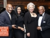 Jean Nash Wells with George Hulse and guests - HCCI 13th Annual Let Us Break Bread Together Awards Dinner