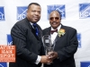 Honoree Rev. Dennis A. Dillon with Derek E. Broomes - HCCI 13th Annual Let Us Break Bread Together Awards Dinner